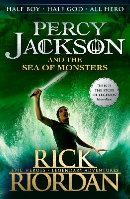 Percy Jackson and the Sea of Monsters (Book 2) book