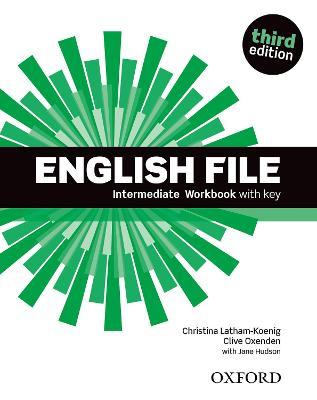 English File third edition: Intermediate: Workbook with key book