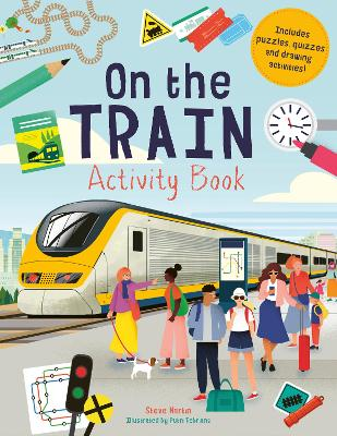 On the Train Activity Book by Mr. Steve Martin