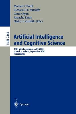 Artificial Intelligence and Cognitive Science by Michael O'Neill