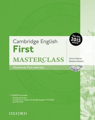 Cambridge English: First Masterclass: Workbook Pack with Key book