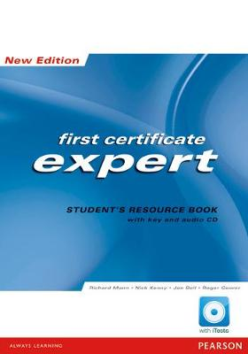 FCE Expert new Edition Students Resource Book with Key/CD Pack by Richard Mann