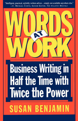 Words At Work by Susan Benjamin