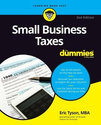 Small Business Taxes For Dummies book