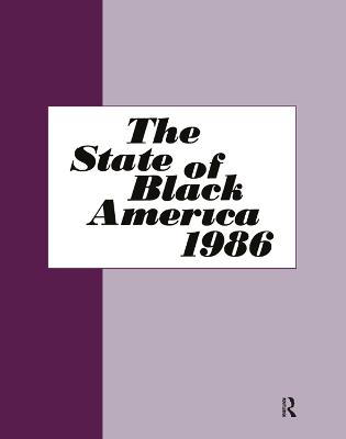 State of Black America - 1986 book