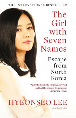 Girl with Seven Names book