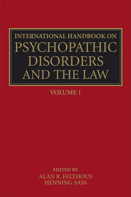 International Handbook on Psychopathic Disorders and the Law book
