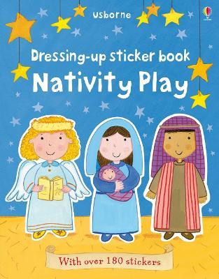 Dressing-Up Sticker Book Nativity Play book