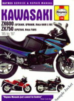 Kawasaki ZXR750 (Ninja ZX-7 and ZXR750) Fours Service and Repair Manual by Alan Ahlstrand