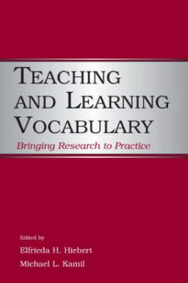 Teaching and Learning Vocabulary book