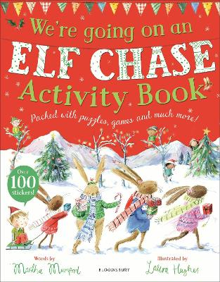We're Going on an Elf Chase Activity Book book