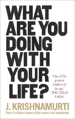 What Are You Doing With Your Life? book