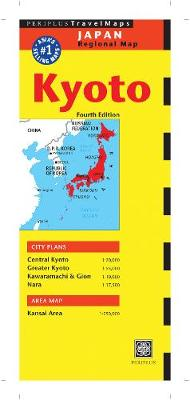 Kyoto Travel Map by Periplus Editions