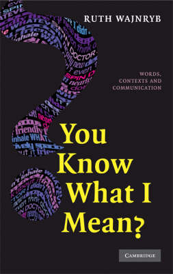 You Know what I Mean? book