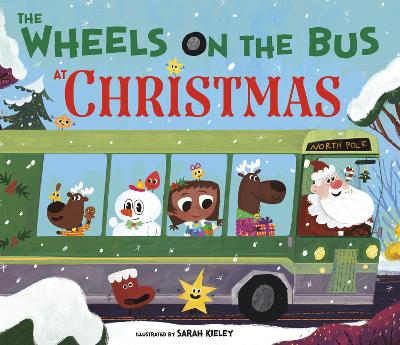 Wheels on the Bus at Christmas book