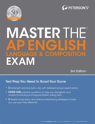 Master the AP English Language & Composition Exam by Peterson's