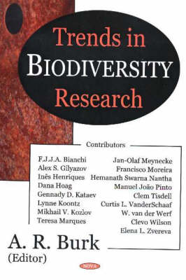 Trends in Biodiversity Research by A. R. Burk