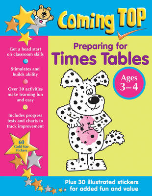 Coming Top: Preparing for Times Tables - Ages 3-4 by Louisa Somerville