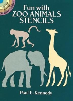 Fun with Zoo Animals Stencils book
