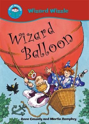 Wizard Balloon book