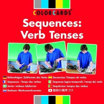 Sequences: Colorcards: Verb Tenses book