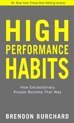 High Performance Habits book