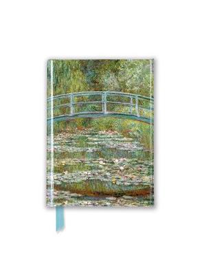 Claude Monet: Bridge Over a Pond of Water-Lilies (Foiled Pocket Journal) by Flame Tree Studio