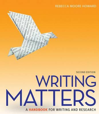 Connect Access Card for Writing Matters, Tabbed by Rebecca Moore Howard