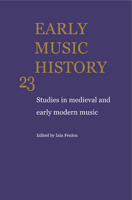 Early Music History 25 Volume Paperback Set by Iain Fenlon