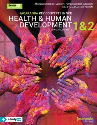 Jacaranda Key Concepts in VCE Health & Human Development Units 1 and 2 by Andrew Beaumont