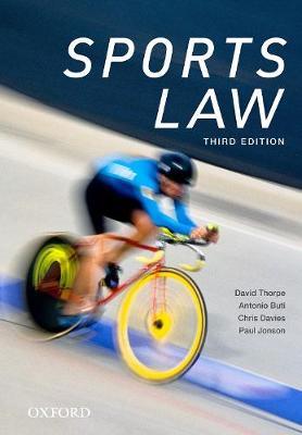 Sports Law by David Thorpe