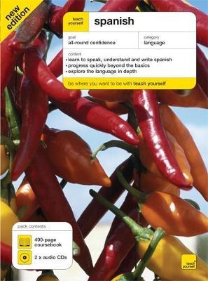Teach Yourself Spanish Book + CD Pack 5th Edition by Juan Kattan-Ibarra