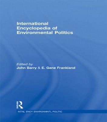 International Encyclopedia of Environmental Politics book