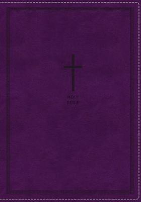 NKJV Thinline Reference Bible Red Letter Edition [Purple] by Thomas Nelson