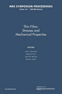 Thin Films:: Volume 130 by John C. Bravman