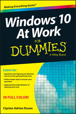 Windows 10 at Work for Dummies book