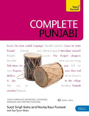 Complete Punjabi Beginner to Intermediate Course: (Book and audio support) by Surjit Singh Kalra