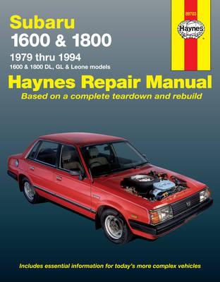 Subaru Automotive Repair Manual book