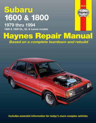 Subaru Automotive Repair Manual by Mike Stubblefield