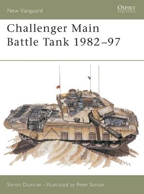 Challenger Main Battle Tank, 1984-96 book