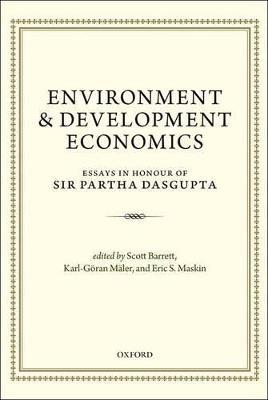 Environment and Development Economics by Scott Barrett