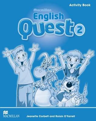 Macmillan English Quest Activity Book Level 2 Macmillan English Quest Level 2 Activity Book 2 by Jeanette Corbett