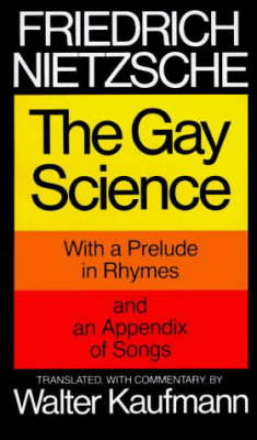 Gay Science book