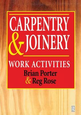 Carpentry and Joinery by Chris Tooke