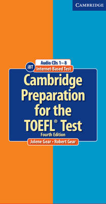 Cambridge Preparation for the TOEFL (R) Test Audio CDs (8) book