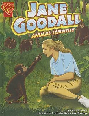 Jane Goodall by Katherine Krohn