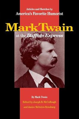 Mark Twain at the Buffalo Express book