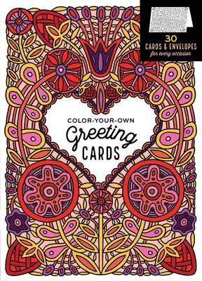 Color-Your-Own Greeting Cards by Caitlin Keegan