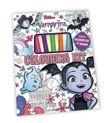 VAMPIRINA COLOURING KIT book