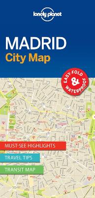 Lonely Planet Madrid City Map book
